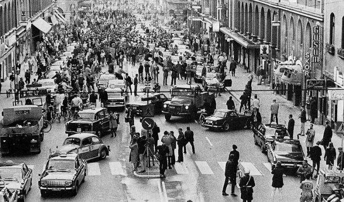Stockholm 1967 or Dar es Salaam mixed lane 2014?