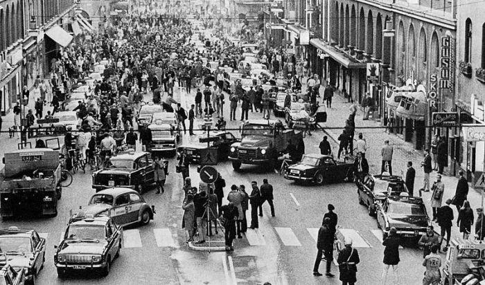 Stockholm 1967 or Dar es Salaam mixed lane 2014?