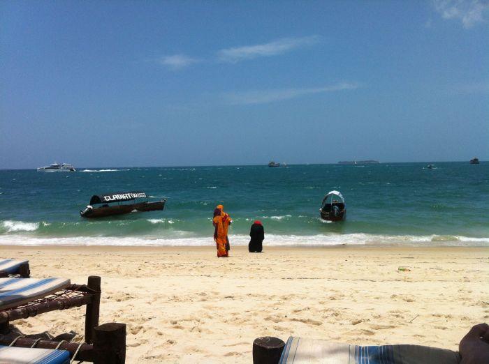 Beach at Zanzibar
