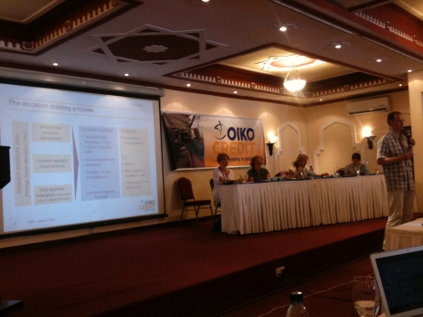 AGM at Oikocredit in 2011